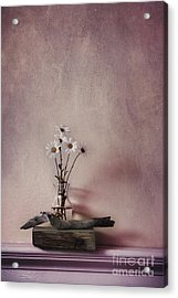 Life Gives You Daisies Acrylic Print by Priska Wettstein