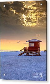 Life Guard 1 Acrylic Print by Marvin Spates