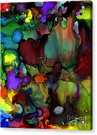 Life In Another World Acrylic Print by Angela L Walker
