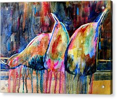 Life In Color Acrylic Print