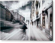 Life In Copenhagen Acrylic Print