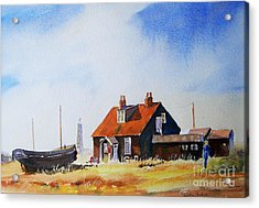 Life In Dungeness Acrylic Print
