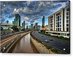 Acrylic Print featuring the photograph Life In The Fast Lane by Ronsho