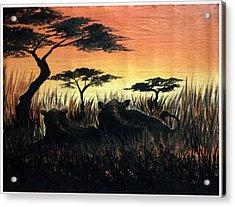 Life In The Jungle  Acrylic Print by Gibu John Joshua
