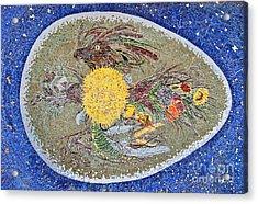 Life Inception Mosaic Acrylic Print by Mae Wertz