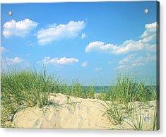 Life Is A Beach Acrylic Print by Diane Diederich