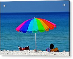 Life Is A Sunny Beach 001 Acrylic Print