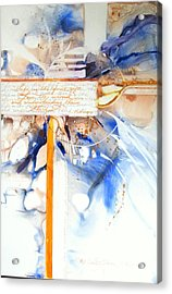 Life Is The First Gift  Acrylic Print by Patricia Mayhew Hamm