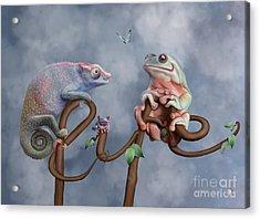 Life Acrylic Print by Ivan Pawluk