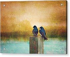 Life Long Friends - Days End Acrylic Print
