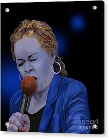 Life Love And The Blues Acrylic Print by Steve Knapp