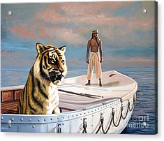 Life Of Pi Acrylic Print by Paul Meijering