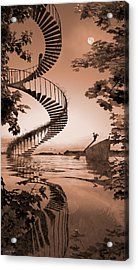 Life Without Stairs Acrylic Print