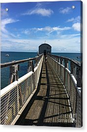 Lifeboat 'action Stations' Acrylic Print