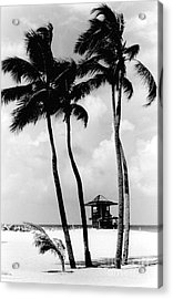 Lifeguard Hut Acrylic Print by Gary Gingrich Galleries