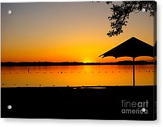 Lifeguard Off Duty Acrylic Print
