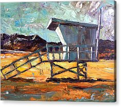 Lifeguard Station Number Two Acrylic Print