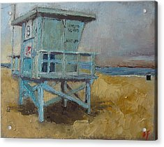 Lifeguard Station One Acrylic Print