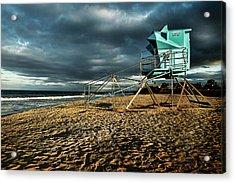 Lifeguard Tower Series - 9 Acrylic Print by James David Phenicie