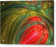 Life's Colors Acrylic Print by Lourry Legarde