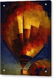 Acrylic Print featuring the digital art Lift by Kirt Tisdale