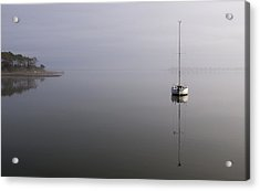 Acrylic Print featuring the photograph Lifting Fog by Gregg Southard