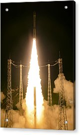 Liftoff Of Vega Vv06 With Lisa Acrylic Print by Science Source