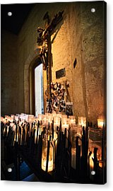 Light A Candle For Me Acrylic Print by Andy Crawford