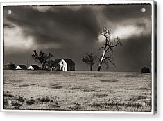 Light After The Storm Acrylic Print by James Steele