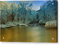 Light After The Storm Acrylic Print by Thomas Schoeller