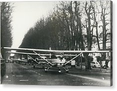 Light Aircraft In March Past Acrylic Print by Retro Images Archive