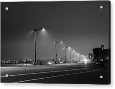 Acrylic Print featuring the photograph Light And Lines by Kevin Bergen