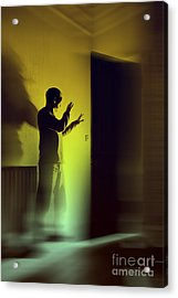 Acrylic Print featuring the photograph Light Behind Door by Craig B