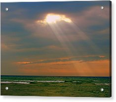 Light Breaking Through Acrylic Print