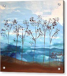Acrylic Print featuring the painting Light Breeze by Linda Bailey