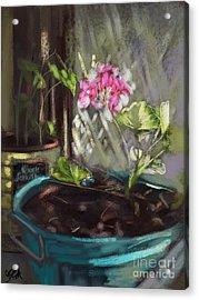 Light Acrylic Print by Carrie Joy Byrnes