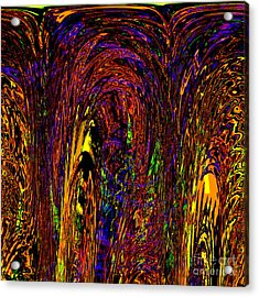 Light Dance Acrylic Print by Ashantaey Sunny-Fay