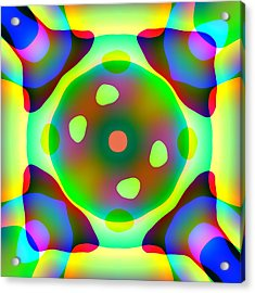 Light Emitting Diode Acrylic Print by Charles Ragsdale