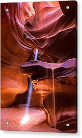 Acrylic Print featuring the photograph Light Erosion by Brad Brizek