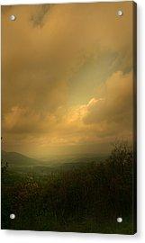 Light Fall Acrylic Print by Nina Fosdick