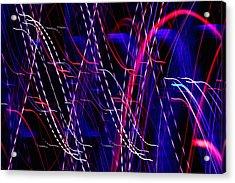 Light Fantastic 06 Acrylic Print by Natalie Kinnear