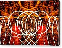 Light Fantastic 16 Acrylic Print by Natalie Kinnear