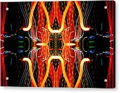 Light Fantastic 19 Acrylic Print by Natalie Kinnear