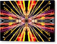 Light Fantastic 22 Acrylic Print by Natalie Kinnear
