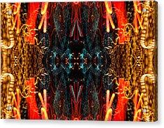 Light Fantastic 24 Acrylic Print by Natalie Kinnear