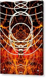 Light Fantastic 31 Acrylic Print by Natalie Kinnear
