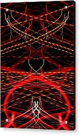 Light Fantastic 33 Acrylic Print by Natalie Kinnear