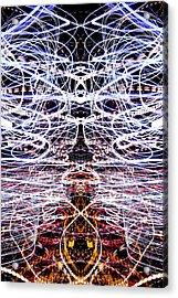 Light Fantastic 38 Acrylic Print by Natalie Kinnear