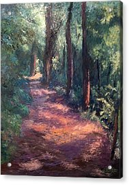 Light For My Path Acrylic Print by Gail Kirtz