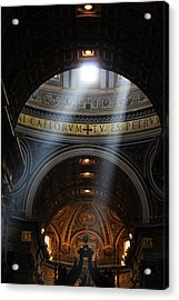 Light From Above Acrylic Print by Oscar Alvarez Jr
